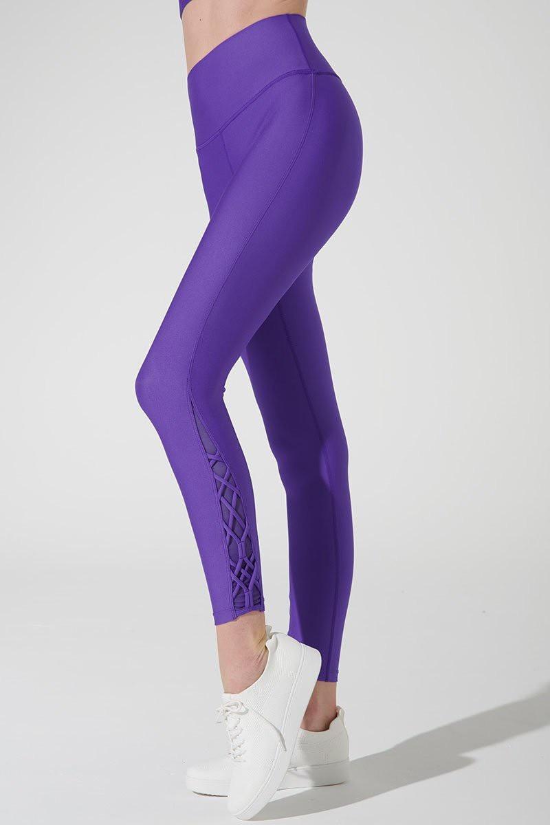 Quần Tập Gym Yoga Dây Đan Purple S'angria Knotte